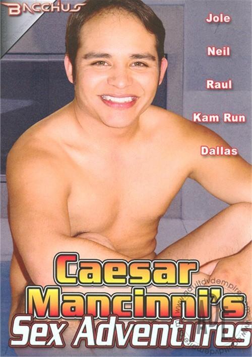 Caesar Mancinni's Sex Adventures Boxcover
