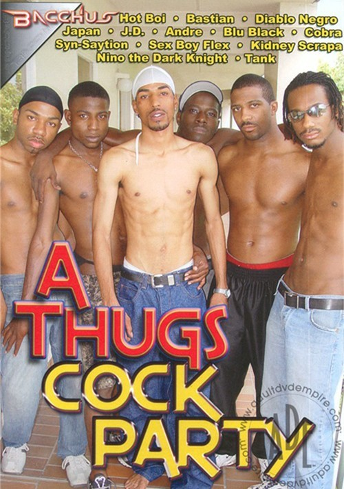 Thugs Cock Party, A Boxcover