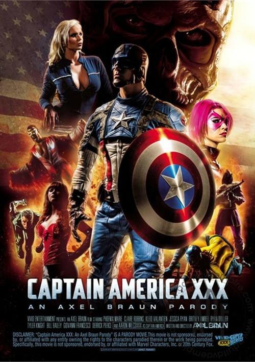 Captain america xxx parody
