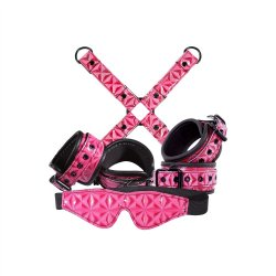 Sinful Bondage Kit - Pink Sex Toy