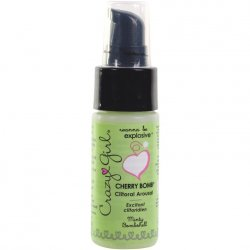 Crazy Girl Cherry Bomb Clit Arousaler - Minty Bombshell - 1oz Sex Toy