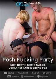 Posh Fucking Party gay porn VOD from VirtualRealGay