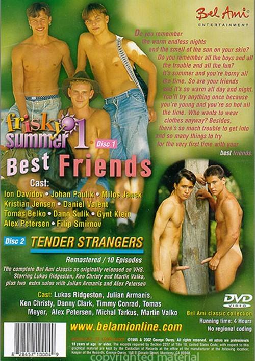 Frisky Summer 1 Cover Back