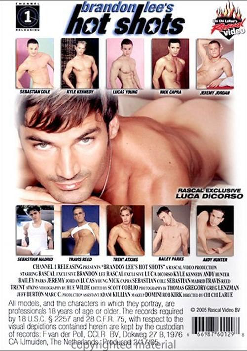 Brandon Lees Hot Shots Back Cover