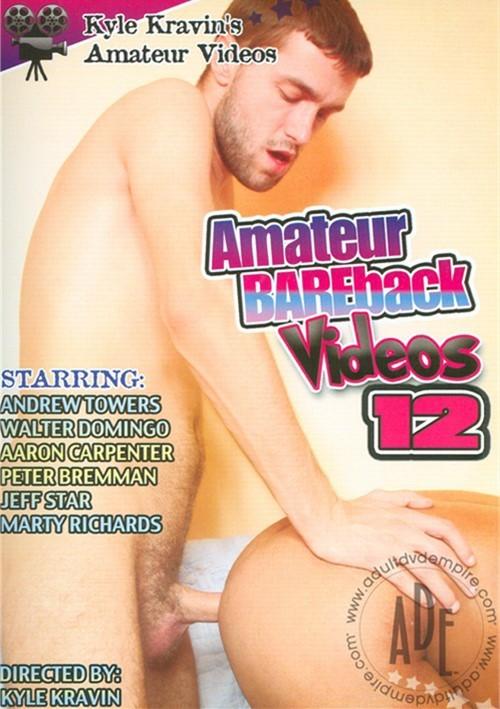 Kyle Kravin's Amateur Bareback Videos 12 Boxcover