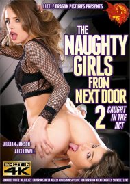 Naughty Girls From Next Door 2, The: Caught In The Act Porn Video