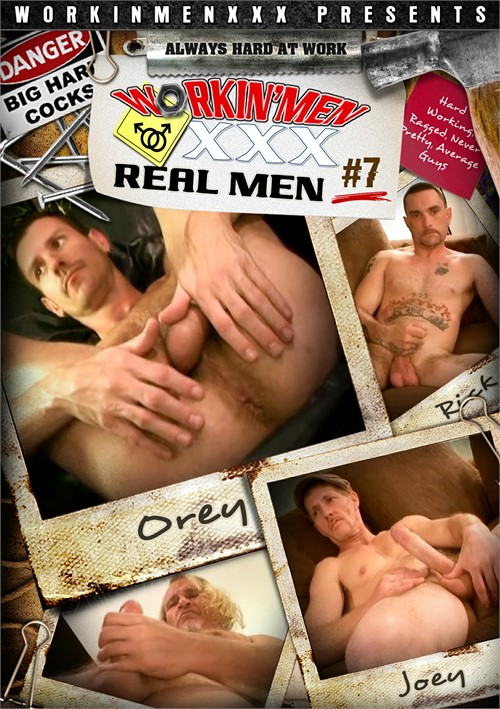 Real Men 7 Boxcover