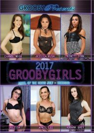 Grooby Girls 2017: Model Of The Month July - December