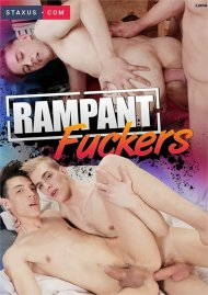 Rampant Fuckers gay porn DVD from Staxus