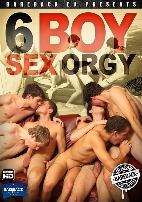 6 Boy Sex Orgy Boxcover