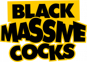 Black Massive Cocks Logo