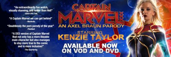 Captain Marvel XXX An Axel Braun Parody Starring Kenzie Taylor - Available Now!