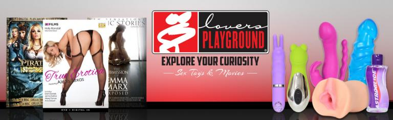 Lovers Playground Online Store Official on Demand Theatre and Store Logo