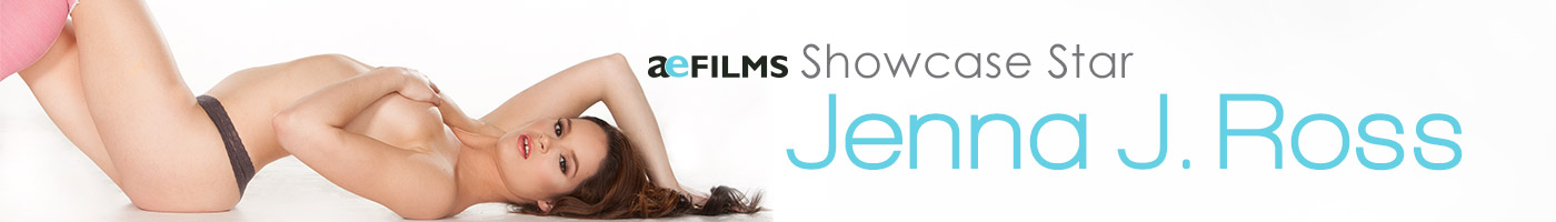 Jenna J. Ross, Exclusive DVD from Adult Empire Films.