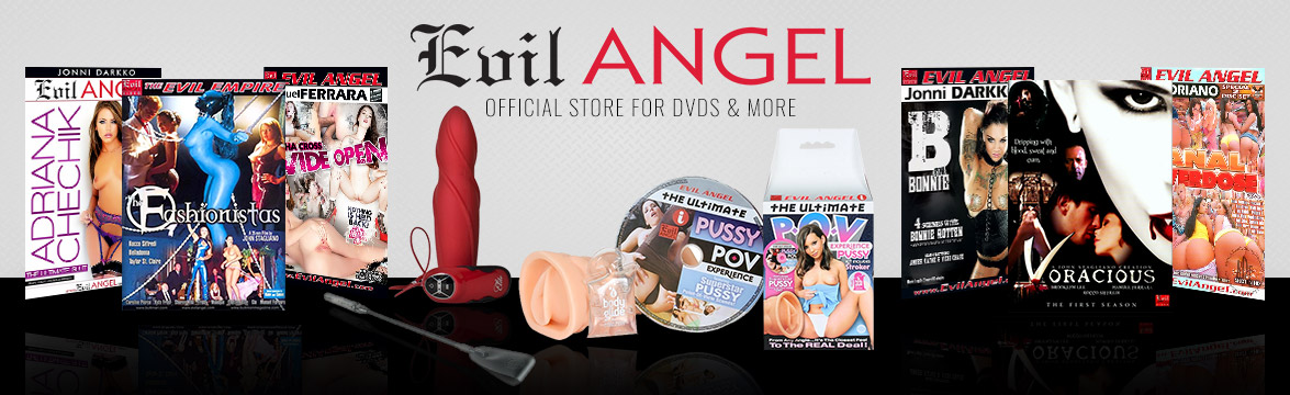 Welcome to the Evil Angel  DVD, sextoy, and clothing store.