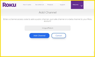 King of Fetish Roku Channel Image