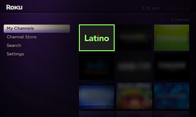 Open the LatinoGuysPorn channel on your Roku Image