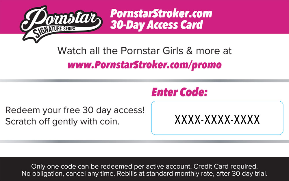 Pornstar Stroker Signature Series Coupon Image