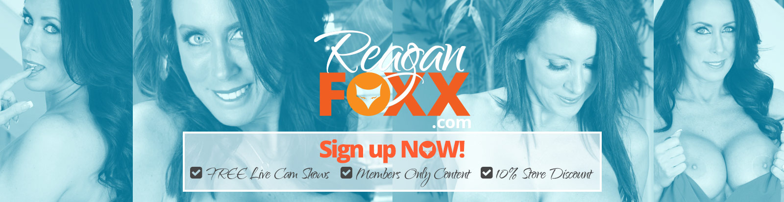 Welcome to the Reagan Foxx Store official on Demand theatre and store.