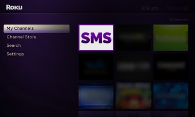Access the Shemale Strokers Channel from your Roku Image