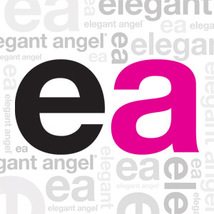 Elegant Angel Hero Logo