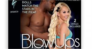 Zero Tolerance Blow Ups - Interracial Cuckold Doll with DVD & Lube sex toy.