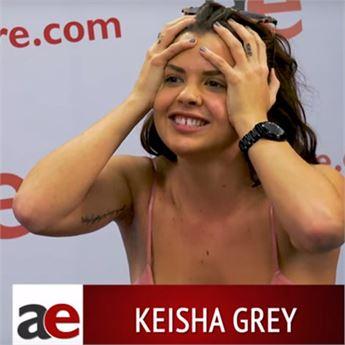 Porn star Keisha Grey.