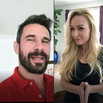 Manuel Ferrara interview Kayden Kross.