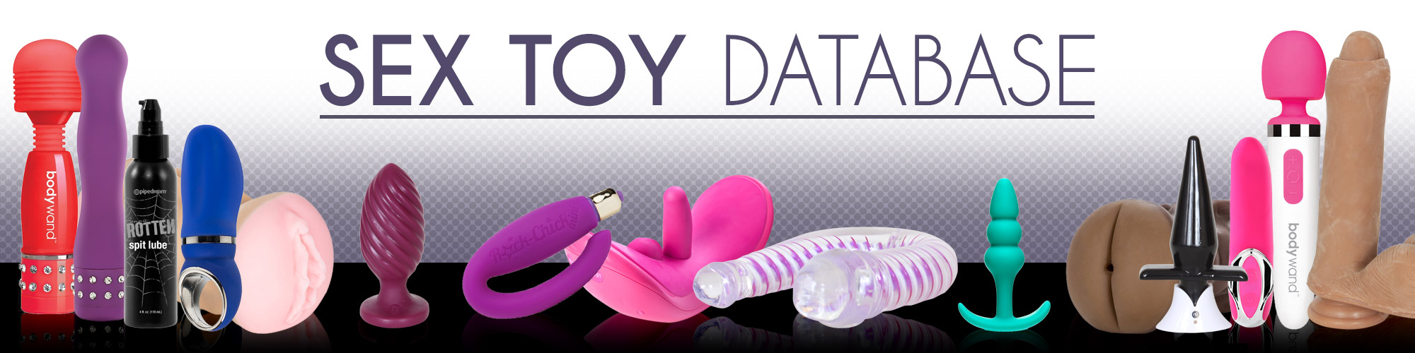 Welcome to the The Sex Toy Database official on Demand theatre and store.